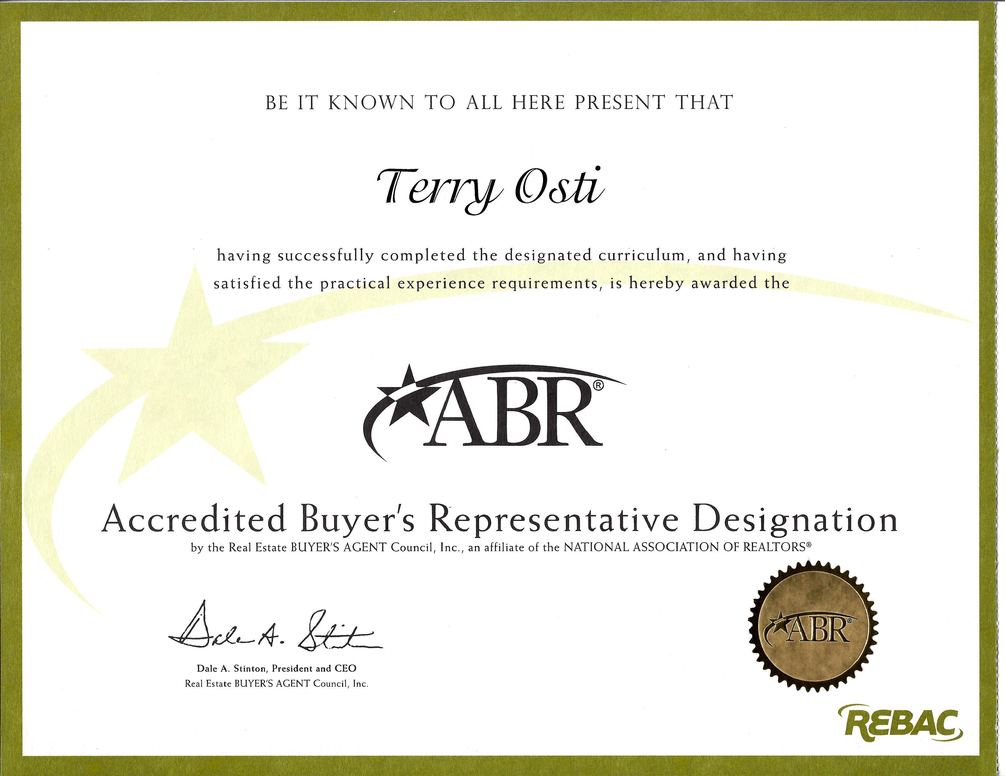 Accredited Buyers Representative  image