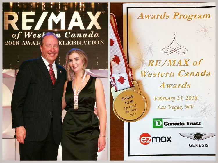 Spirit of the West Award - Presented to a Sales Professional who is always contributing beyond all others to the success and promotion of your office and the RE/MAX® brand.  This individual likely sits on a committee, organizes events in your office, attends RE/MAX conferences and seminars and, in general, promotes good will. - RE/MAX OF WESTERN CANADA - 2017 RECIPIENT image