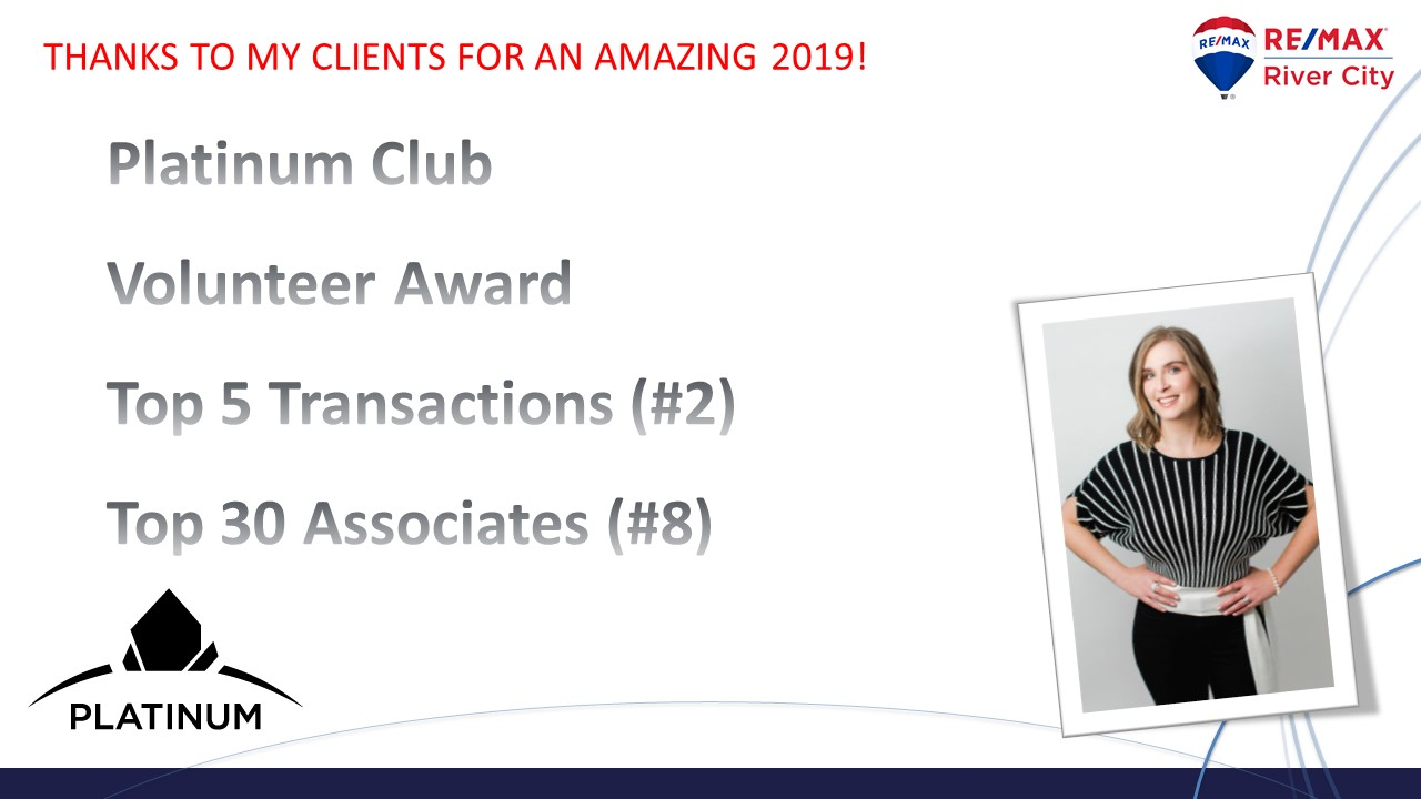 RE/MAX River City - Top Individual Transactions - 2018; 2019; - #2 in Office image