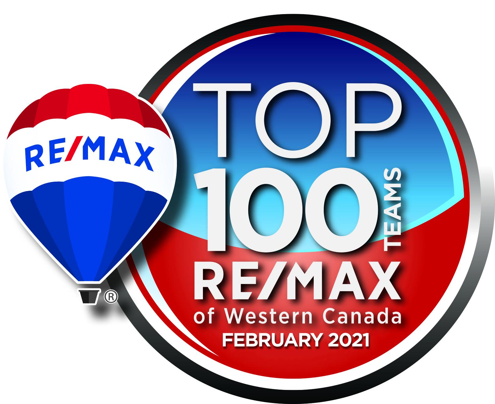 TOP 100 Teams Western Canada image