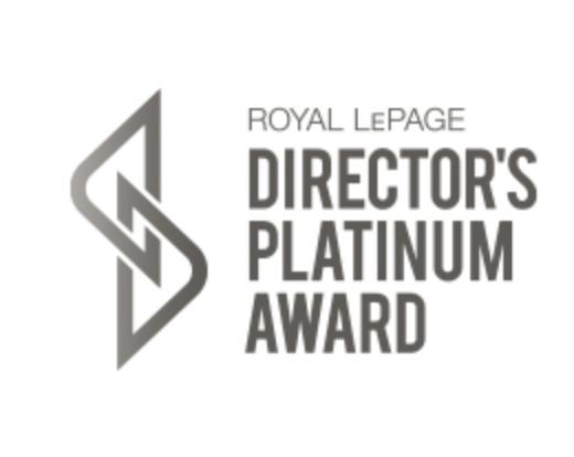 2020 Royal LePage Platinum Agent Award- top 5% of realtors in Toronto image