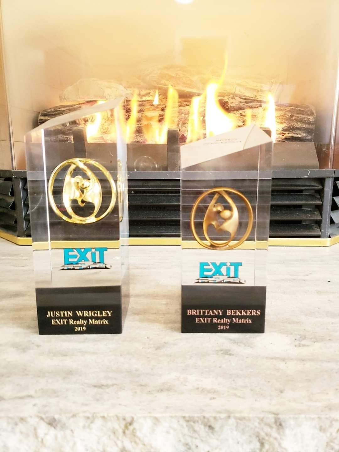 2018 & 2019 Bronze production award for selling between 25-50 properties in 1 year with EXIT Realty. image