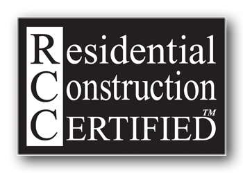 Residential Construction Certified (RCC) image
