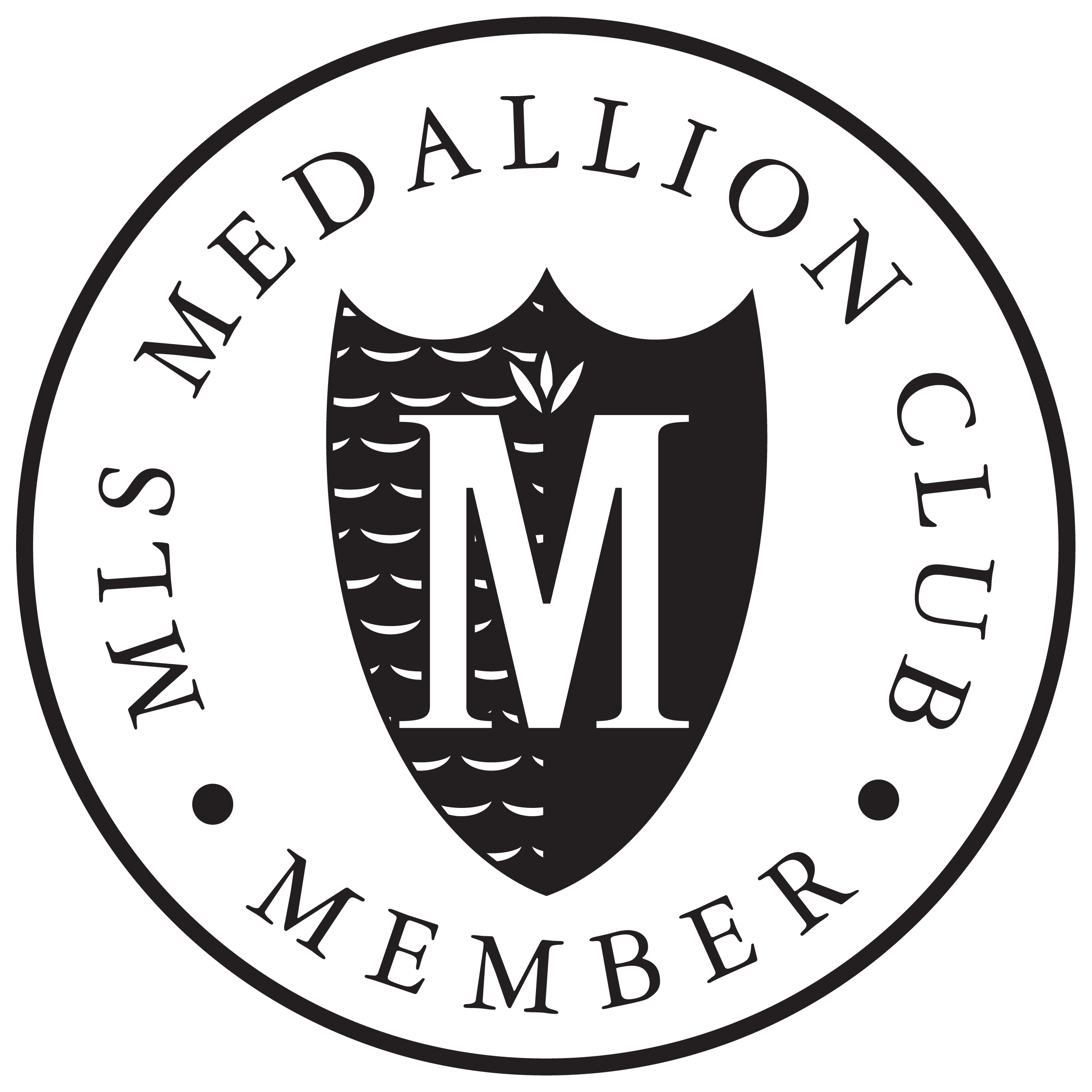 Medallion Club Award - Top 10% in 2017 & 2018 of All Realtors based on MLS Sales at the Real Estate Board Greater