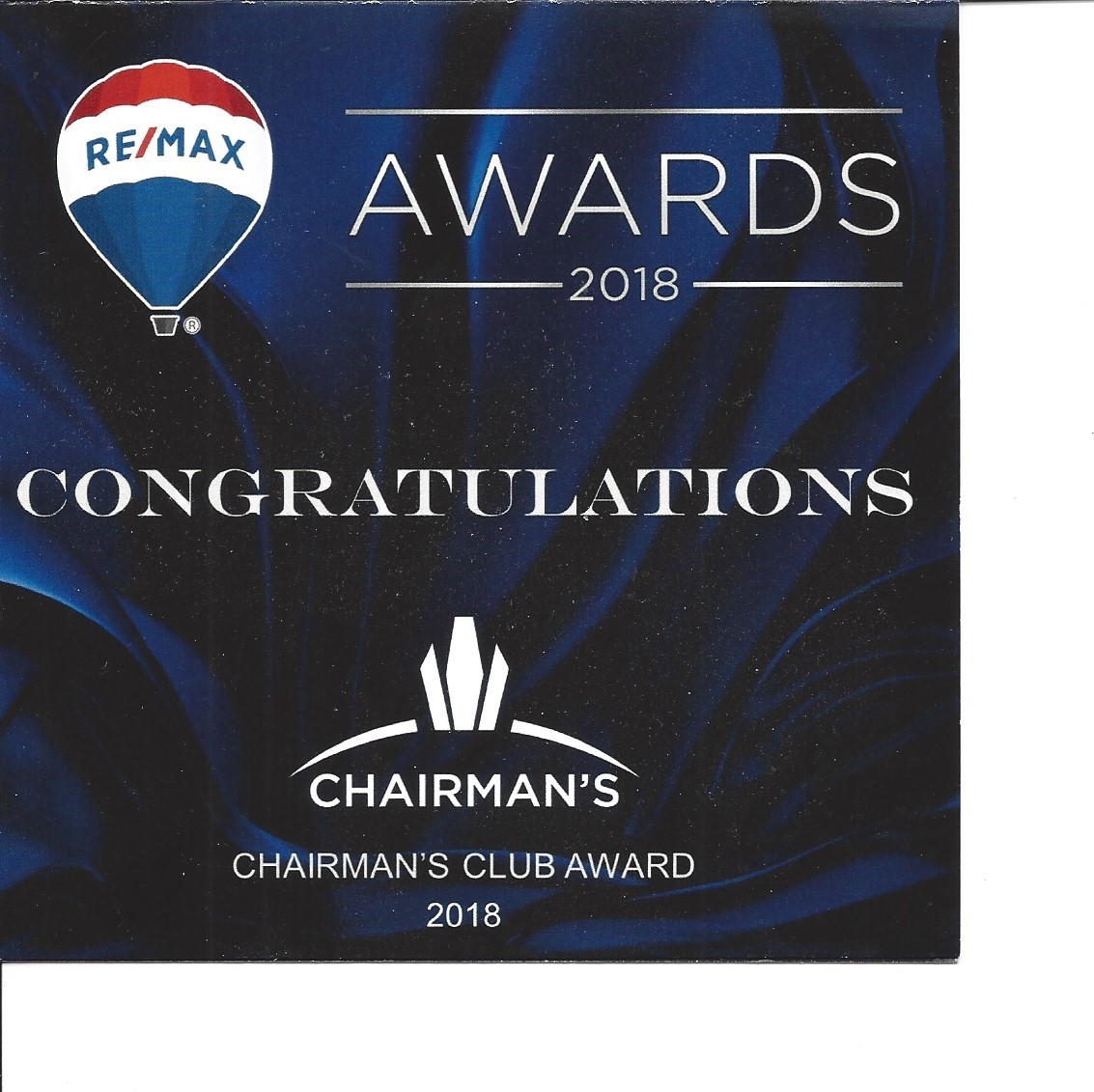 Chairmans Award reaches a sales goal which I have achieved for the last two years image
