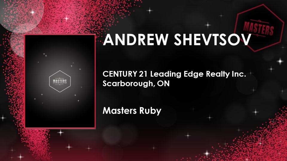 Several Masters Level production awards from Century 21 Canada. image