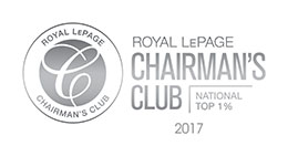 Royal LePage Chairman's Club 2017 - National Top 1% image