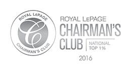 Royal LePage Chairman's Club 2016 - National Top 1% image